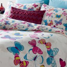 catherine lansfield home erfly fusion duvet cover set