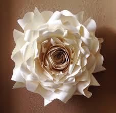 ingenious wall flower decor home giant paper wedding party decoration ideas images diy lotus porcelain 3d