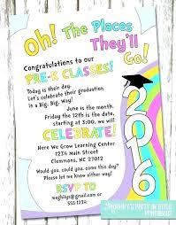 Preschool Graduation Announcements Free Printable Graduation Party Invitations Best Of