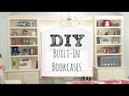 easy diy bookcase how to build built in bookcases