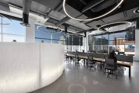 chmiel architects office lighting office design interior design architecture modern