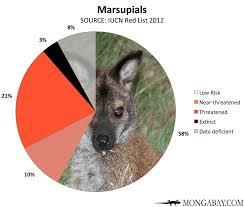 Chart Endangered Marsupials