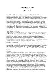 picasso essays pablo picasso essays
