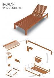 Relaxliege Holz Bauanleitung Relaxliege Bauen Gartenliege Selbstde