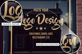 We add new mockups every day. 15 Logo Sign Mockups On Glass Window Creativebonito Com