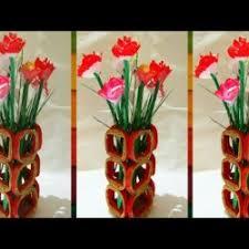 News Paper Flower Vase Newspaper Flowers In Vases Gardening Flower And Vegetables