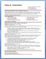 Free Sample Resume For Teachers Template Pinterest Sample