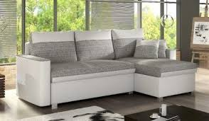 corner sofa bed. Cheap Fez White And Grey Corner Sofa Bed RH