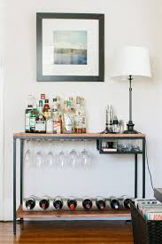 Make your own bar cart - IKEA HACK!
