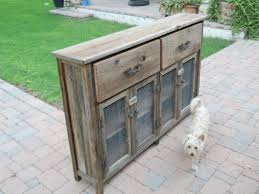 Custom Slim Wooden Buffet Cabinet by Treehousewoodworks ...