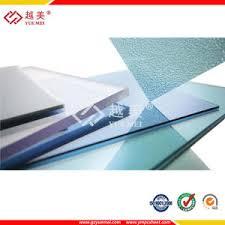 Puertas De Plástico Transparente PC Sólida Hoja De Policarbonato Paneles De Plastico Transparente