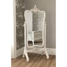 Stand Alone Mirror Bedroom Antique Floor Mirror With Stand La Rochelle Antique French