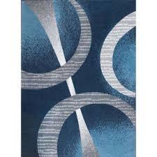 premium blue 3 ft 7 in x 5 ft 2 in indoor