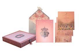 Vivek Sahni Design Pink Blue Themed Box Invites By Vivek Sahni Design Delhi