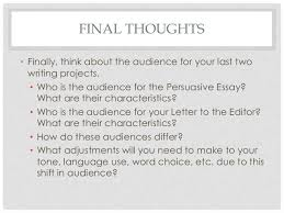 audience analysis essays speech presentation custom writing  audience the writing center