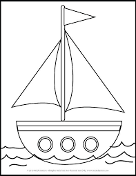 Sailboat Tekenen Coloring Pages For Kids Coloring Pages Free