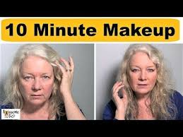10 minute makeup face lips hooded eyes women over 50 10 40 50 eyes face for hooded lips make makeup minute over tips up