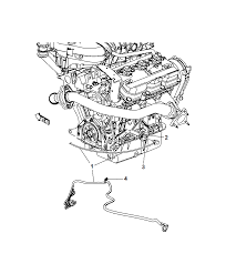 2008 chrysler town country engine cylinder block heater diagram i2188542