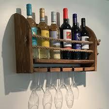 wall mounted handmade rustic 4 glass 6