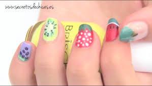 Diseños de uñas frutales. Fruit nail art. | Diseños de uñas ...