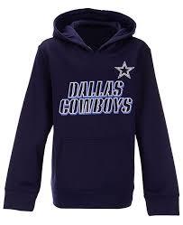 Dallas Cowboys Fleece Hoodie Big Boys 8 20