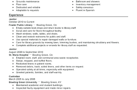 Chronological Resume Template College Graduate Sample Examples Of A