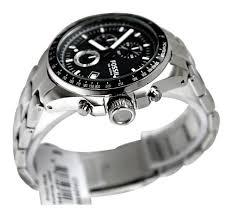 fossil men s ch2600 decker black stainless steel chronograph watch fossil men s ch2600 decker black stainless steel chronograph watch