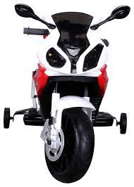 Купить детский <b>электромотоцикл Jiajia BMW</b> S1000PR JT528-red ...