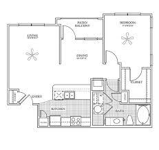 midland apartment floor plan