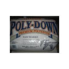 Hobbs Poly Down Quilt Batting King Size 120 X 120 &  Adamdwight.com