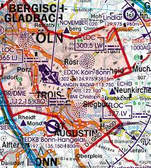 Germany North Wallchart Icao Vfr Aeronautical Chart 500k 2019