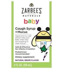 Zarbees Cough Medicine Babycenter