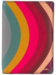 paul smith swirl print wallet