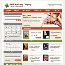 book publishing templates website template 14037 books publishing company custom website