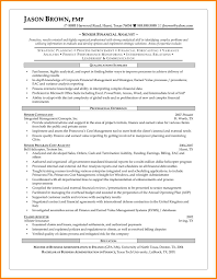 5 Resume Format For Financial Analyst Inventory Count Sheet