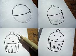 pastries are easy to draw