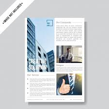 Modern Minimalist Flyer Layout Template Template For Free Download
