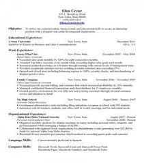 Resume Builder Free Resume