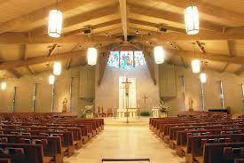all saints catholic church lighting
