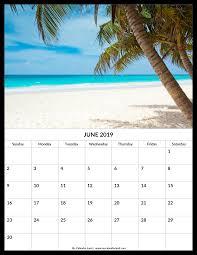 June 2019 Calendar My Calendar Land