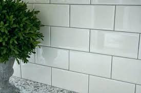 lovely white subway tile with light grey grout and white subway tile with grey grout white