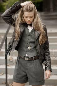 women s charcoal wool vest dark brown leather biker jacket pink vertical striped dress shirt charcoal wool shorts women s fashion