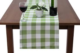 made to measure gingham large table