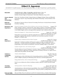 Academic Achievement Resume Sloan Resume Book 2016 2017 Issuu By College Of Human