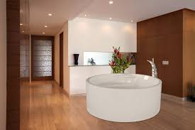 Bathroom Wooden Laminate Flooring Toilet White Wall Paint Decoration  Cleaner Mahogany Deals High Quality Click Shower