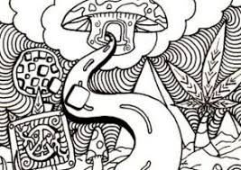 Small Picture Trippy Coloring Pages Coloring4Freecom