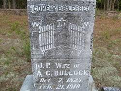 Jane Priscilla Matthews Bullock (1825-1910) - Find A Grave Memorial