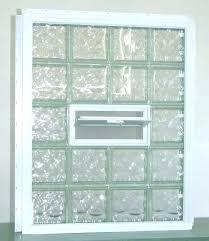 basement block window installing glass block window glass block windows to install glass block window in