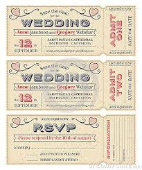 wedding invitation ticket template vector wedding invite tickets wedding wedding invitations