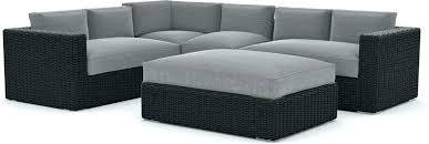 sunbrella outdoor seat cushions cushions for outdoor furniture patio furniture 5 piece outdoor sectional sofa set